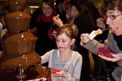 Chocoladefontein het paleis antwerpen (2)