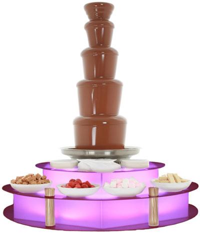 Accessoires chocoladefontein kopen