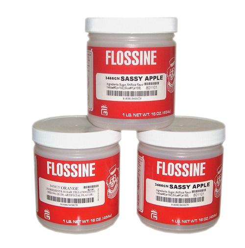 Flossine kleurstof suikerspin