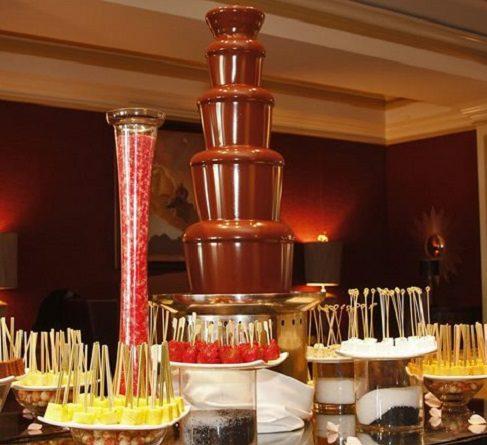 huur grote chocoladefontein 120 cm