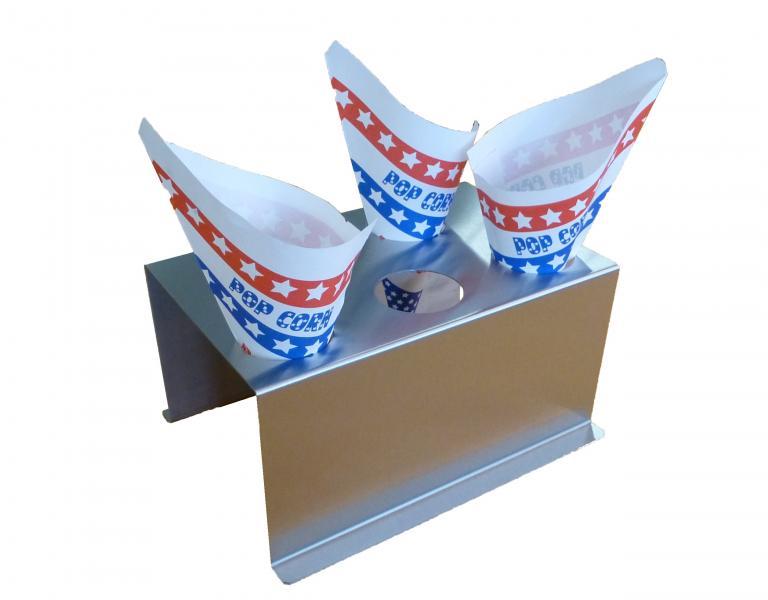 Zakjesstaander popcornzakjes
