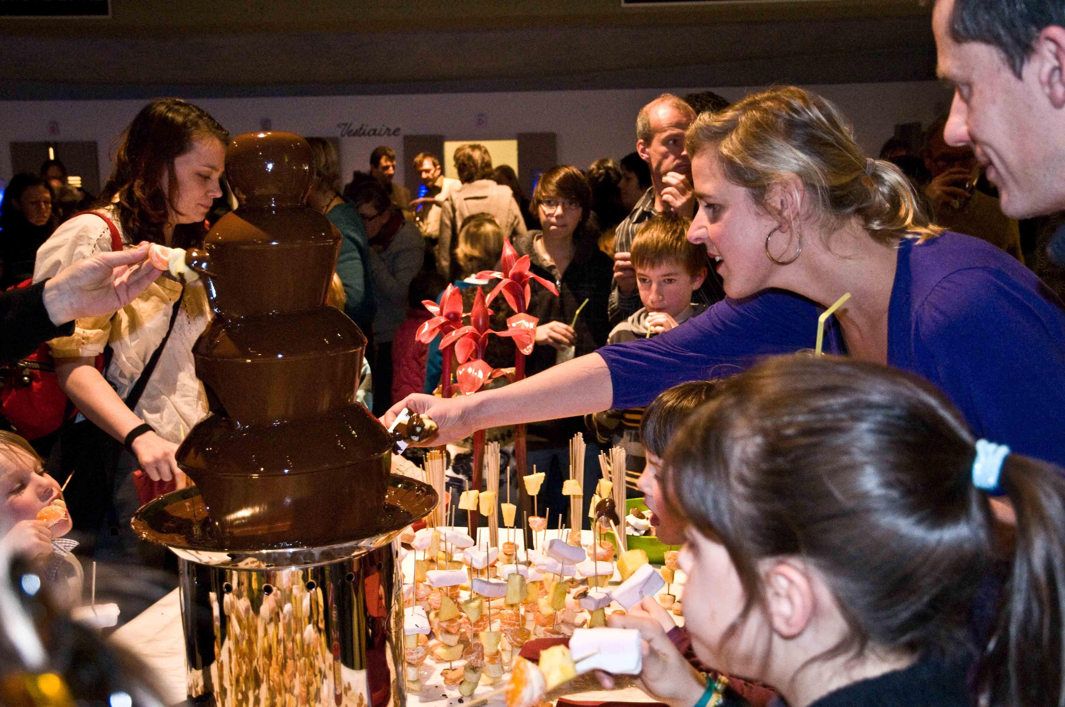 Chocoladefontein het paleis antwerpen (8)