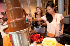 tomorrowland chocolate fountain 4
