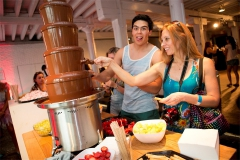 tomorrowland chocolate fountain 5