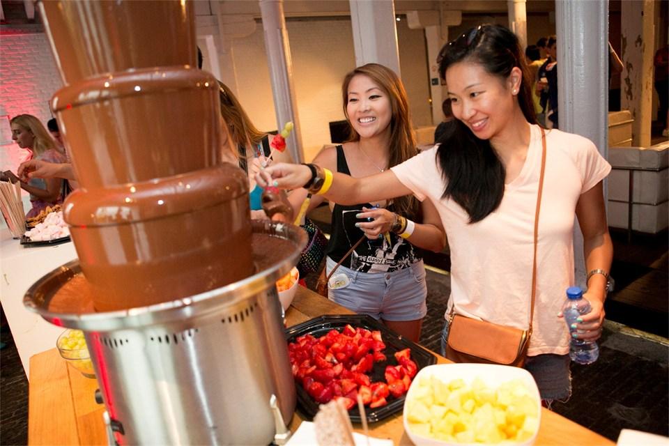 tomorrowland chocolate fountain 4