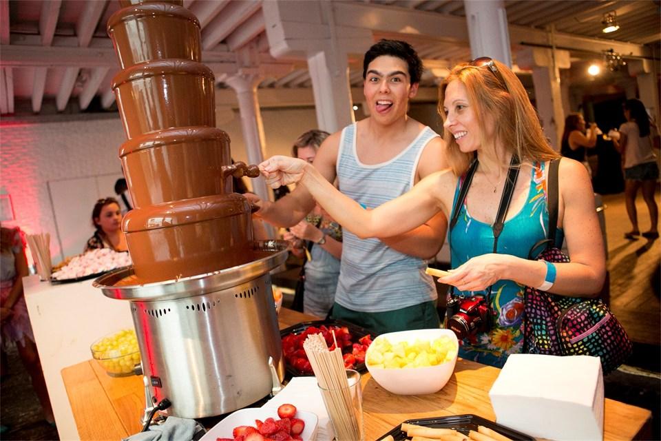 tomorrowland chocolate fountain 5