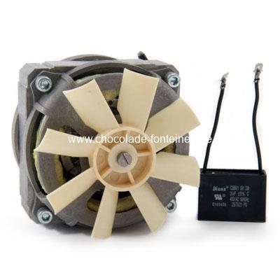 Motor-chocoladefontein-incl-condensator