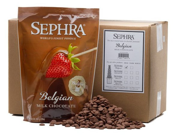 fonteinchocolade callebaut melk 2x10kg