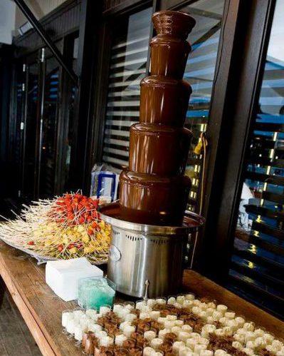 grote chocoladefontein
