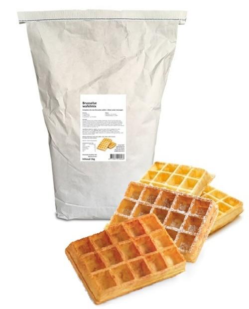 Brusselse wafel mix 10kg funfood