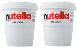 Nutella 2x3 kg