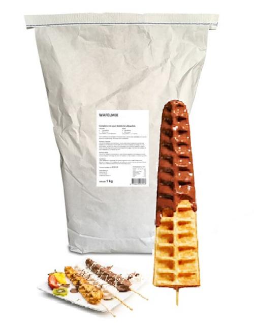 lolly wafel mix 10kg funfood